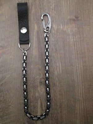 Hosenkette, Schlüsselkette, Geldbörsenkette aus Edelstahl mit