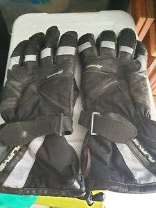 R-Jays motorcycle gloves.