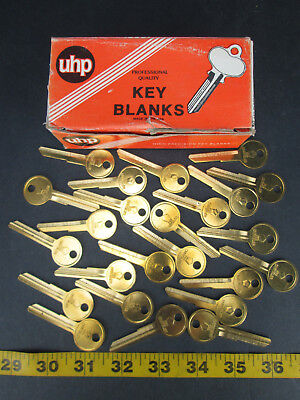 Lot Of 24 Brass Curtis Key Blanks Model No. Y149 Chrysler New Old Stock Skuggs