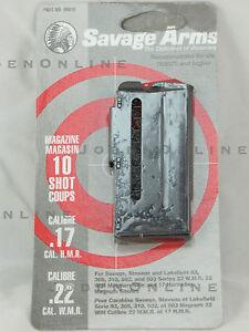 Savage Stevens 93 305 502 503 17HMR 22WMR 22 Mag 10 Round Magazine Clip - 90010