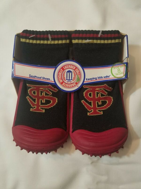 Skidders Skid Proof Toddler Shoes Size 8 - 24 Months - Florida State Seminoles