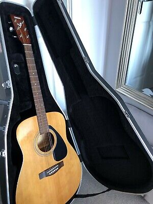 Yamaha F-310 Acoustic Guitar, Used Condition, with Stagg Hard-case