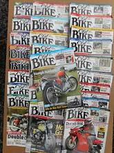 """27 x Issues of """"OLD BIKE AUSTRALASIA"""" Rosevears West Tamar Preview"""