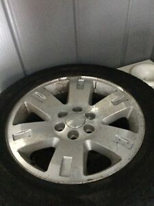 Winters rims and tires for gmc