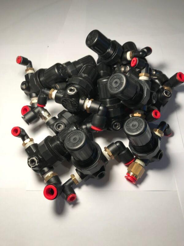 NORGREN R07-200-RNK Pneumatic Air Pressure Regulator, PERFECT CONDITION