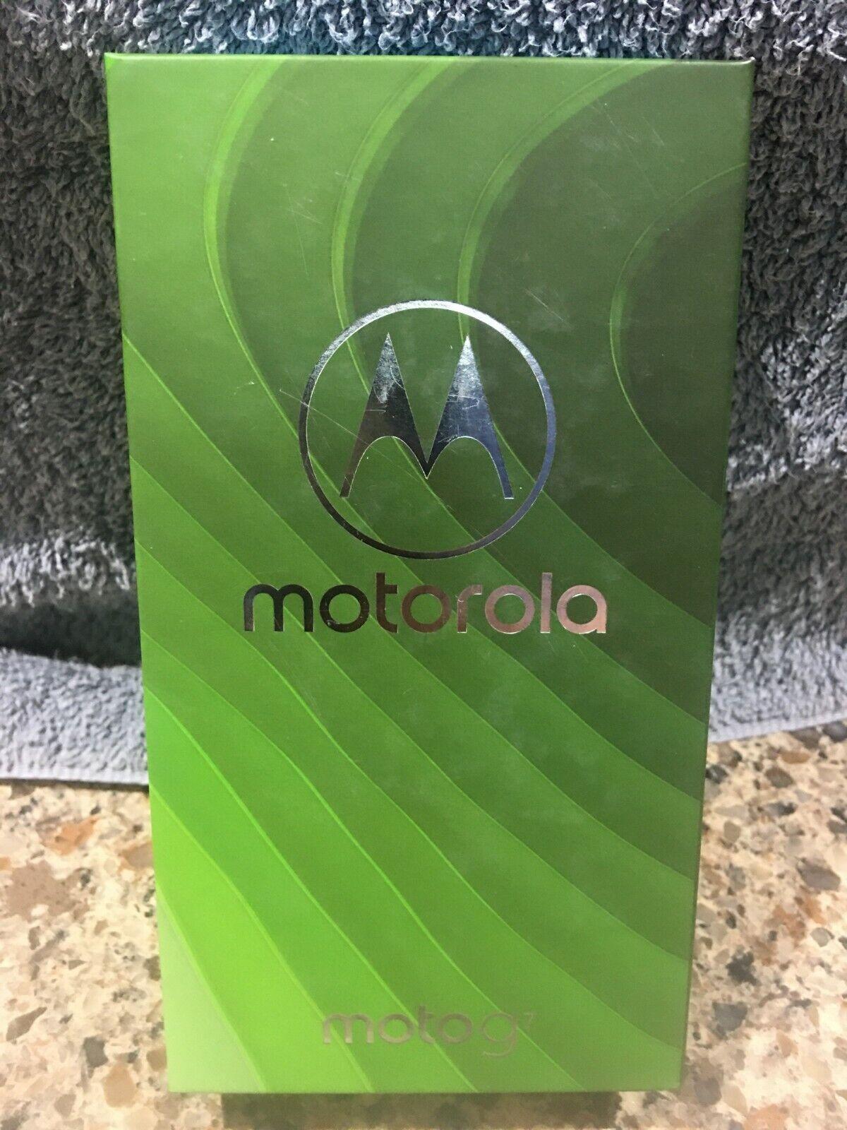 NEW!! Motorola Moto G7 XT1962-1, 64GB - Ceramic Black (Unlocked) (Single SIM)