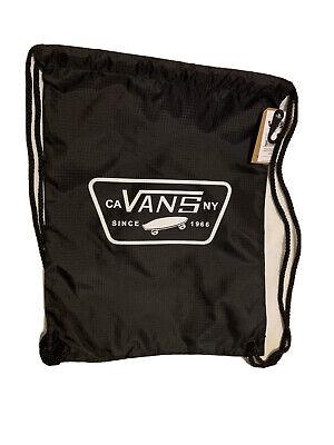 Vans League Bench Backpack Black Bag BNWT