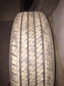 Bridgestone H/T Dueller P255/70R17 tires