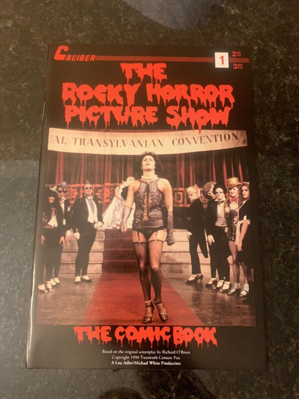 1990 The Rocky Horror Picture Show Issue #1 Caliber Comic Book