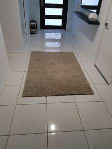 Ikea hampen beige high pile rug - perfect condition 195cm x 133cm Appin Wollondilly Area Preview