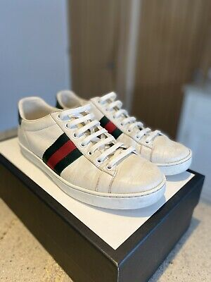 Gucci Ace White Leather Sneakers Original size 4