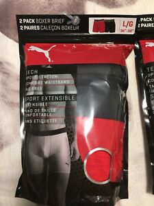 Brand New In Package - Puma Boxer Brief (2 pack) Size: Large