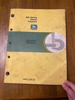 John Deere Service Manual For 820 Series Diesel