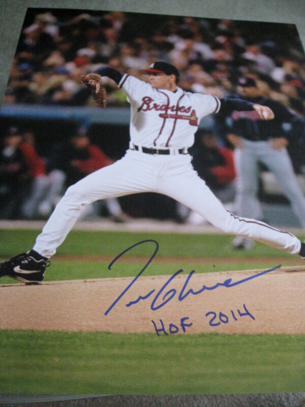 Tom Glavine Autographed Signed 8x10 Photo Picture Baseball Braves Beckett Coa Professional Design Sports Mem, Cards & Fan Shop Photos