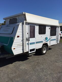 Jayco OFF-ROAD Poptop Caravan (Air con) Brompton Charles Sturt Area Preview