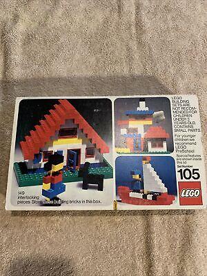 Vintage LEGOs 1974 Classic Building Set #105 Complete