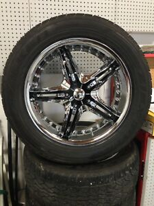 20 inch rims and tires from Nissan Pathfinder