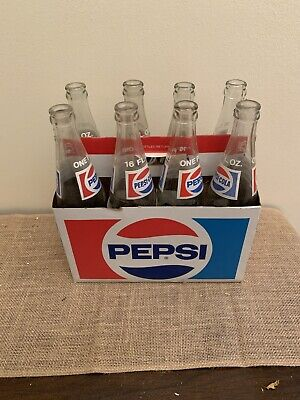 Pepsi Bottles With Carrier