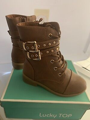 **girl's Top lucky Military Combat Boots TODDLER***](Toddler Girls Combat Boots)