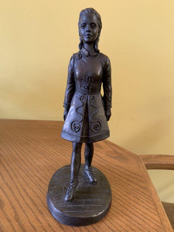 Bronze Irish Dancer Sculpture Statue J Rynhart Rare Edition