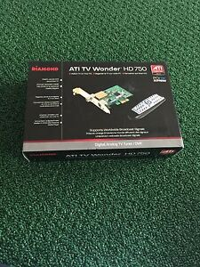 Boxed ATI TV Wonder HD750 with remote PCIE