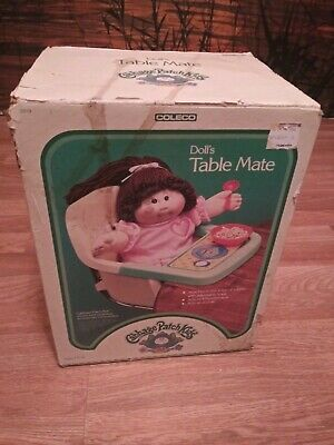 Used, VINTAGE 1980s HASBRO CABBAGE PATCH KIDS TABLE MATE HIGH CHAIR FOR DOLLS NEW OPEN for sale  Shipping to India