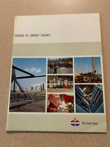 1963 Standard Oil Annual Report