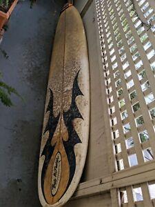 Bob McTavish Mini Mal surfboard and leg rope