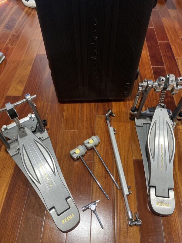 TAMA SPEED COBRA DOUBLE BASS PEDAL 910 HPHP910LWN  excellent used condition