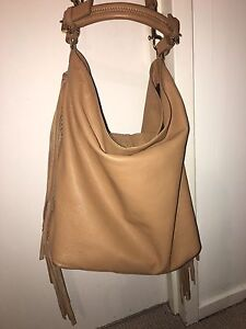 Country road brown leather bag with tassels Manning South Perth Area Preview