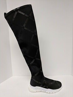 Love Moschino Over The Knee Boots, Black, Womens 6 M