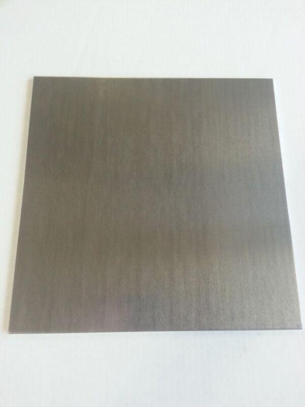 ".250 1/4"" Mill Finish Aluminum Sheet Plate 6061 5"" x 5"""