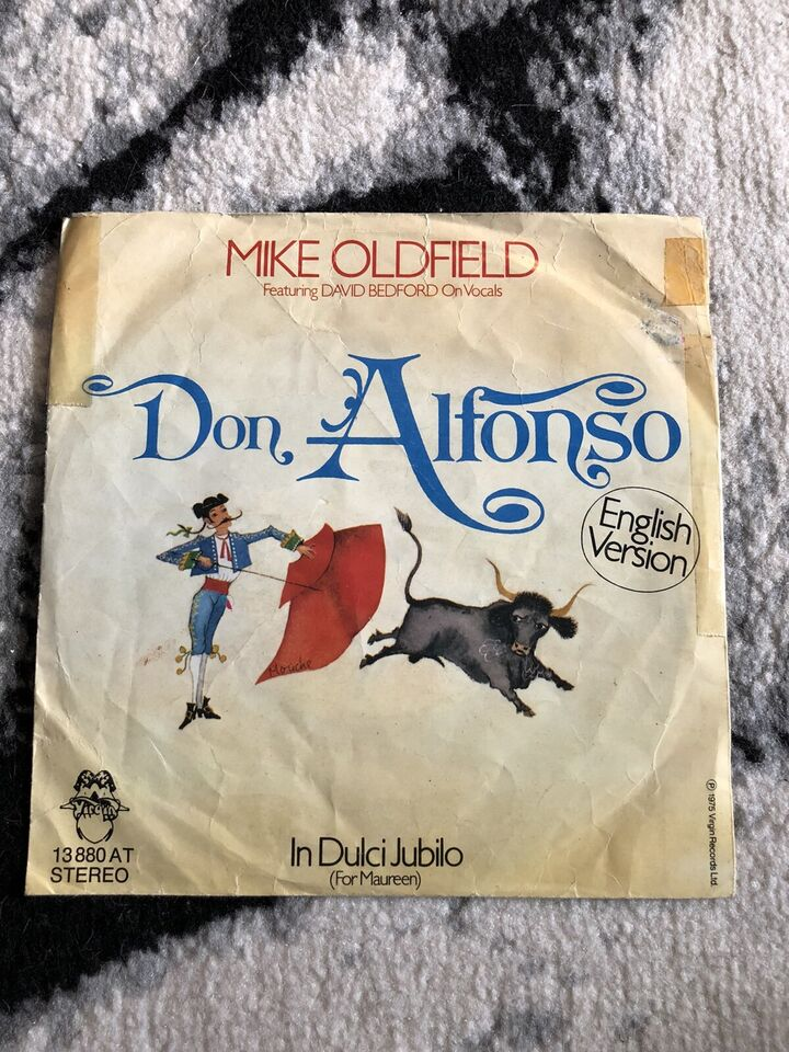 Mike Oldfield / Don Alfonso (English Version) 1975 Single in Berlin