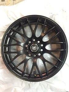 "17"" MSR Cadillac CTS RIMS with TPMS"