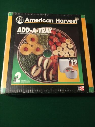 american harvest add a tray snack master