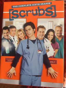 Scrubs seasons 1-6
