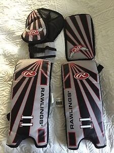 "15"" hockey goalie set"