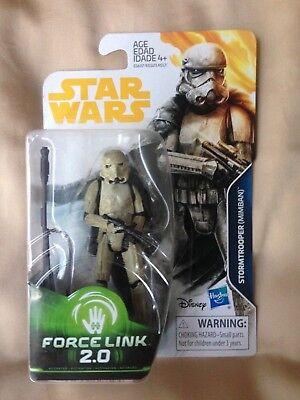 Star Wars Force Link 2 0 Stormtrooper  Mimban    Range Trooper By Hasbro
