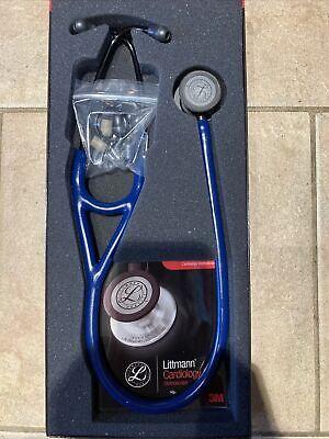 Nib Littmann Cardiology Iv Stethoscope Navy Blue 27in