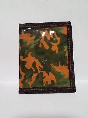 Kids boys Camouflage Wallet hook and loop fastener - Skylanders Boy And