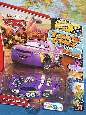 DISNEY PIXAR CARS N2O COLA NO. 68 RADIATOR SPRINGS CLASSIC **BRAND NEW & RARE**, used for sale  Shipping to India