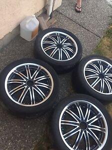 "18""Wheels & Low Profile tires"