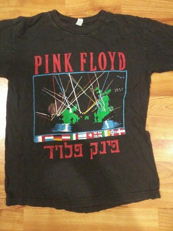 Vintage Rare Hebrew Pink Floyd Momentary Lapse of Reason Shirt Men
