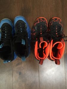 Nike foamposite size 5y and 5.5y