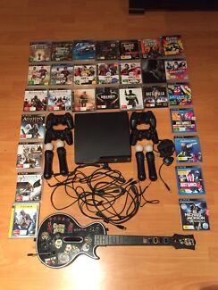 500GB Sony PS3 Slim + Games/Accessories