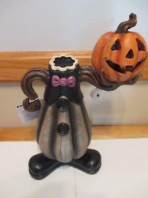 ss Clown Jack O' Lantern Gourd Body LED Lighting, Lights Up! (Clown Jack O Lantern)