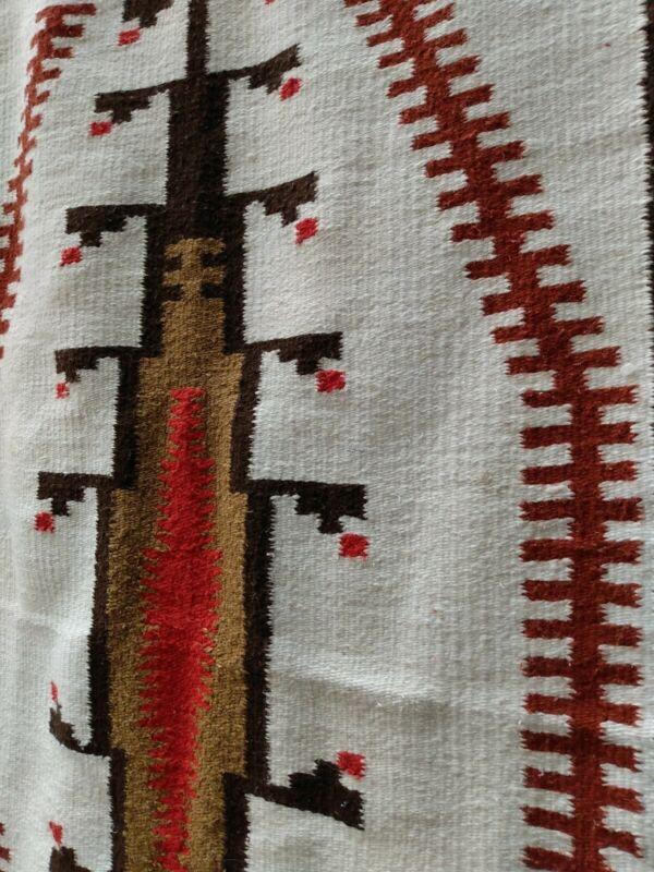 Navajo Style Rug Native American Indian Style Blanket Klagetoh Style Rug 58 x 31