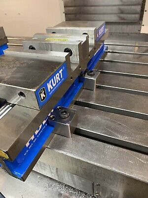 Milling Vise Adjustable Toe Clamps Kurt Vise and Others