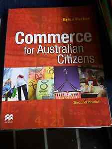 Year9&10 Commerce textbook Westmead Parramatta Area Preview