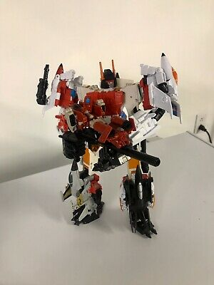 Transformers Generations Combiner Wars G1 Superion Lot Of 6 With Quickslinger
